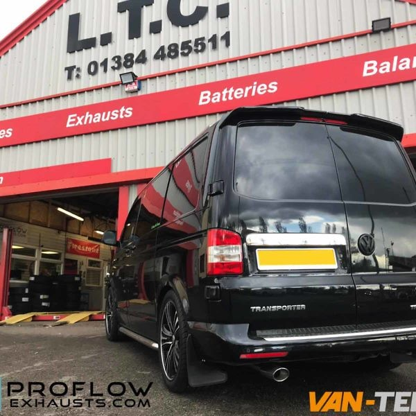 VW Transporter Custom Exhaust