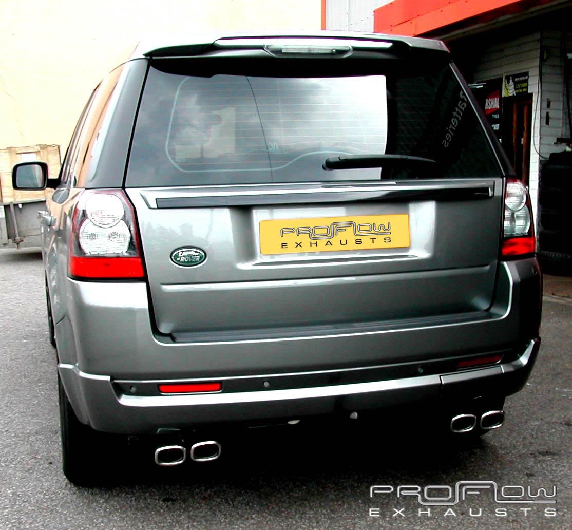 Land Rover Freelander 2 With Proflow Exhaust S Custom Built