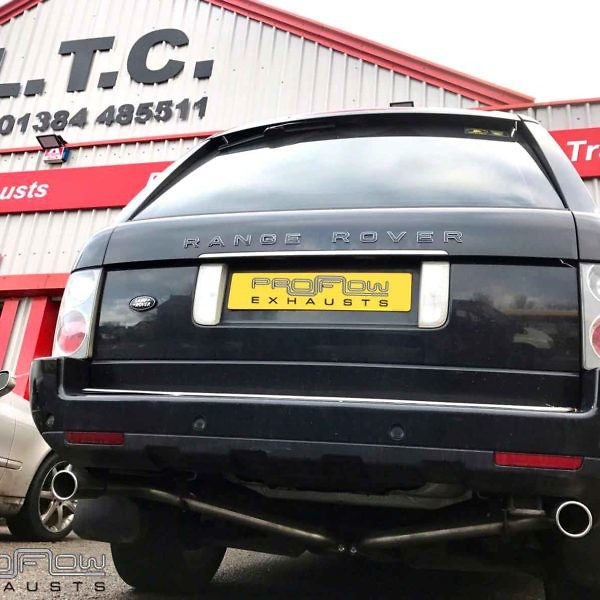Range Rover Vogue Fitted With Stainless Steel Dual Rear No Boxes £240 (1)