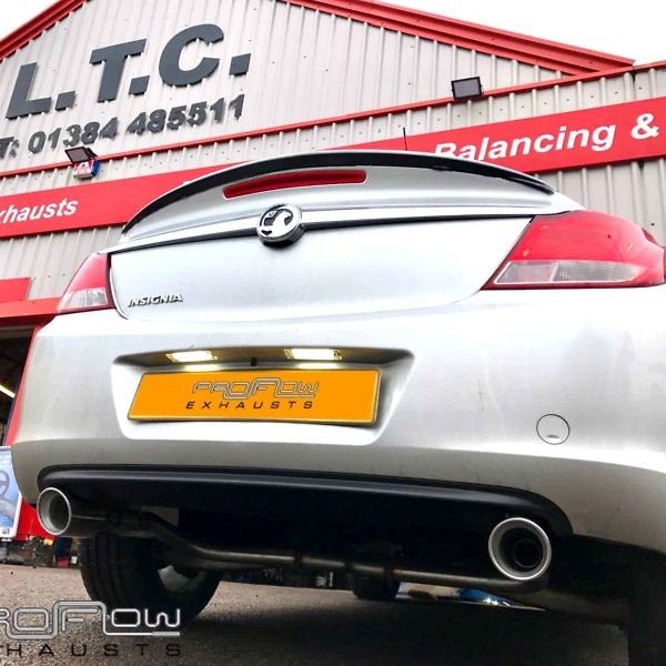 Proflow Exhausts Vauxhall Insignia Middle And Dual Rear Stainless Steel Exhaust System (1)