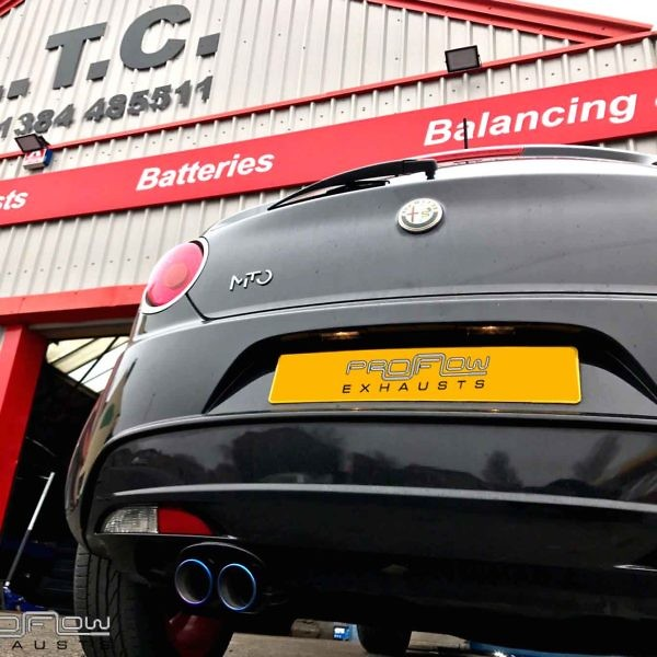 Alfa Mito Back Box Delete