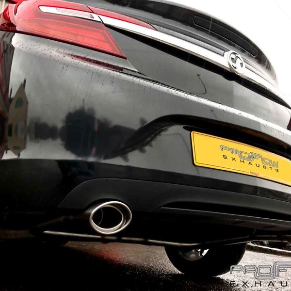 Proflow Exhausts Vauxhall Insignia Dual Rear No Boxes Custom Built Stainless Steel Exhaust From £300 (2)
