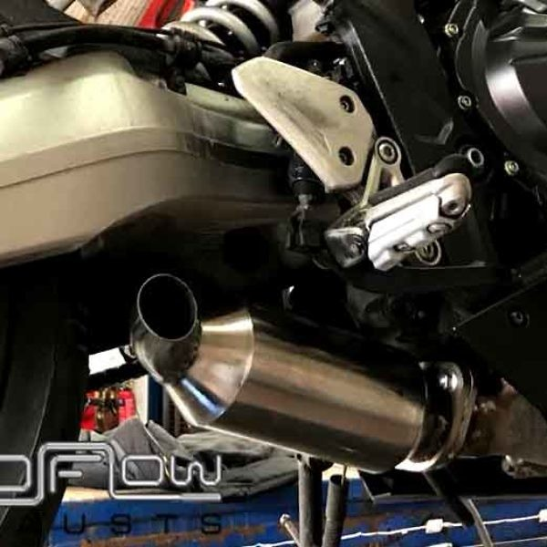 CBR 650 Motor Cycle Proflow Exhausts Stainless Steel Back Box And Cat Delete From £225 (2)