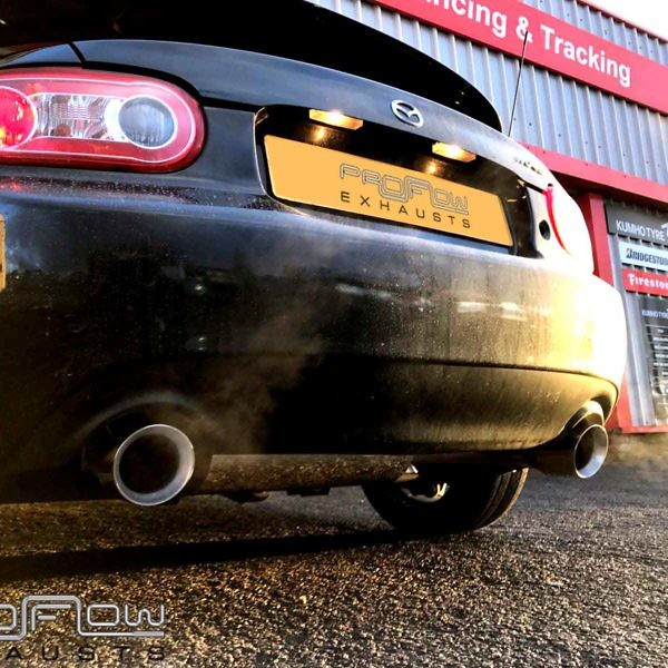 Mazda Mx5 Stainless Steel Middle And Dual Rear 2 1.5 Proflow Exhausts £350 (1)