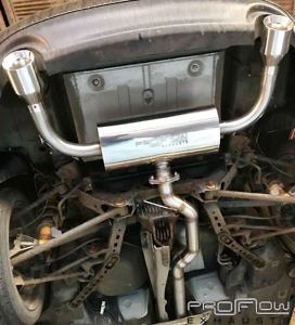 Mazda Mx5 Stainless Steel Middle And Dual Rear 2 1.5 Proflow Exhausts £350 (4)