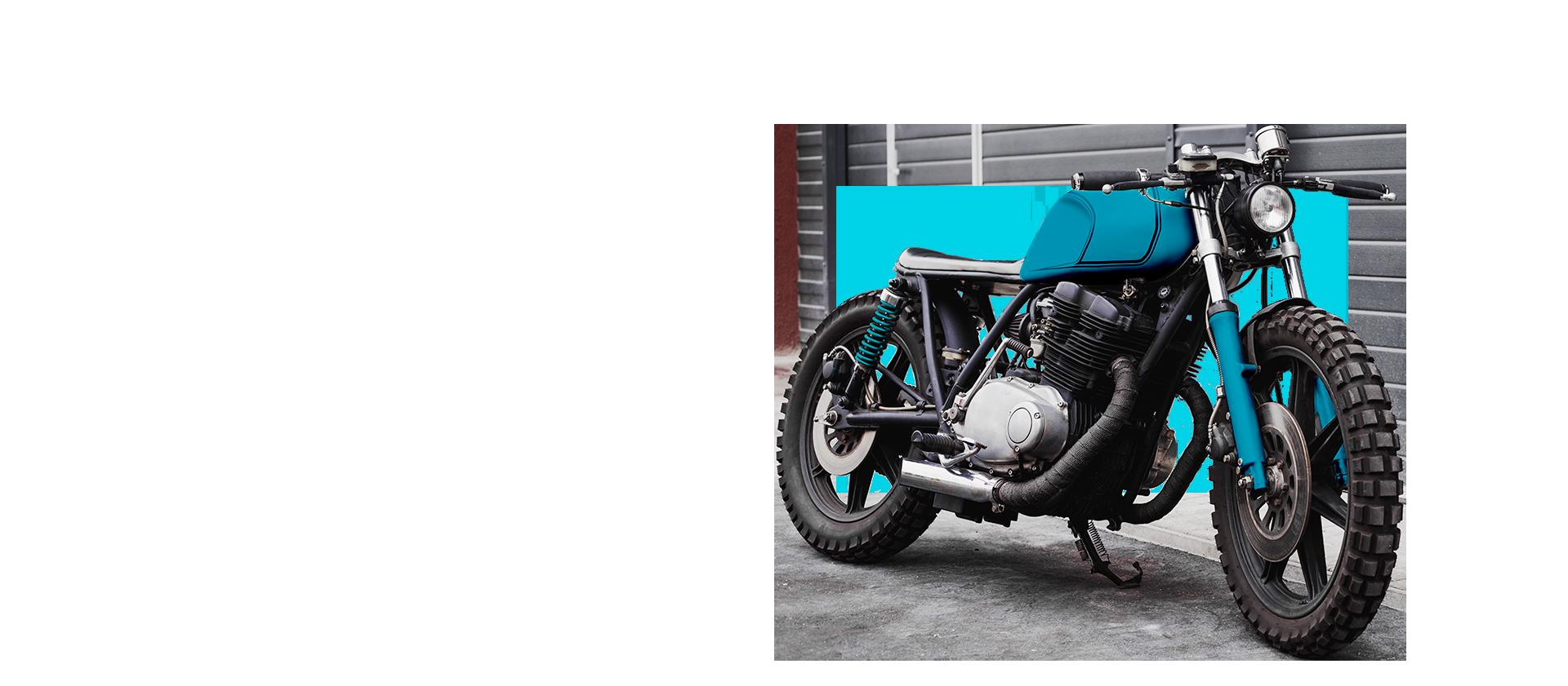Slide 3 Motorbike Blue 4
