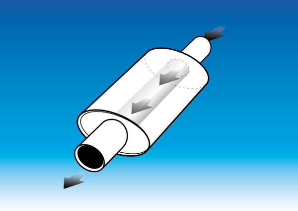 Proflow Exhausts Silencer Oval Box (OSS) Performance Muffler