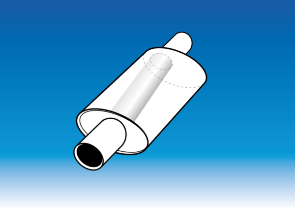 Proflow Exhausts stainless steel oval box (OSO) silencer performance muffler