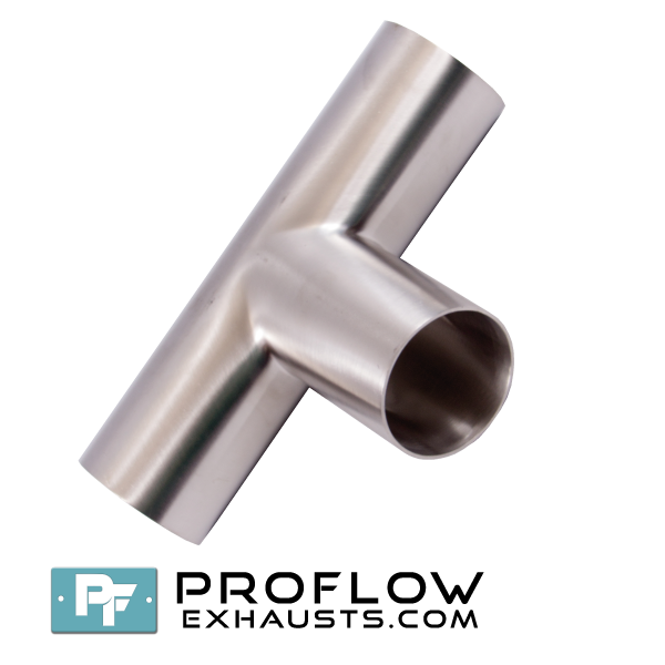 Proflow exhausts stainless steel equal tee