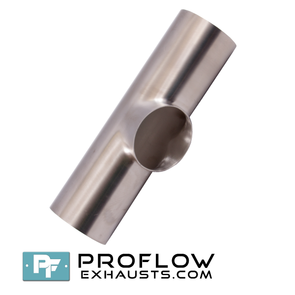 Proflow exhausts stainless steel pulled tee