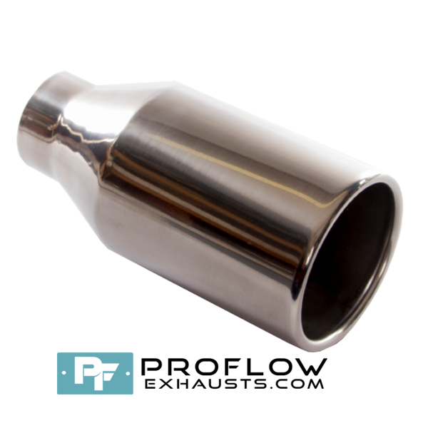 Proflow Exhausts Tailpipe Round TX009