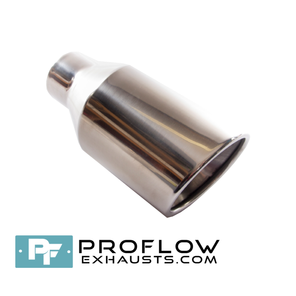 Proflow Exhausts Tailpipe Round TX074