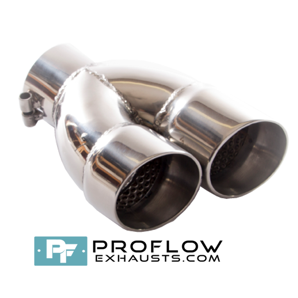 Proflow Exhausts Twin Round Tailpipe TX139