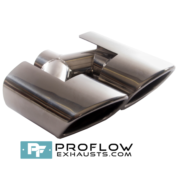 Proflow Exhausts Stainless Twin Staggered Square Tailpipe TX183L/R