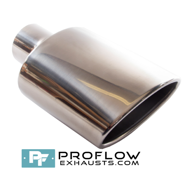 Proflow Exhausts Tailpipe Oval 6x4 TX007