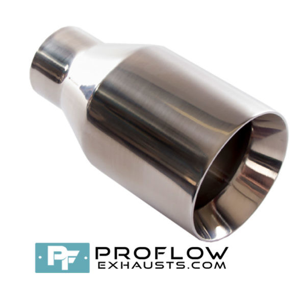 Proflow Exhausts Stainless Steel Tailpipe Round TX025