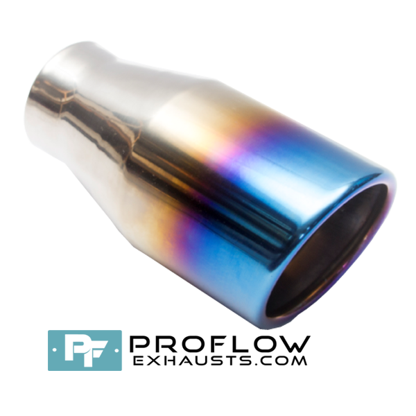 Proflow Exhausts Tailpipe Round Burnt Tip TX194