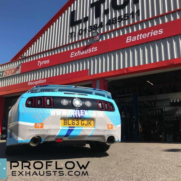 Ford Mustang Fitted With Proflow Exhausts Complete System The Atlantic Trip (1)