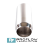Proflow Exhausts Stainless steel Tailpipe Round TX061