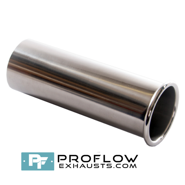 Proflow Exhausts Stainless steel Tailpipe Round TX066