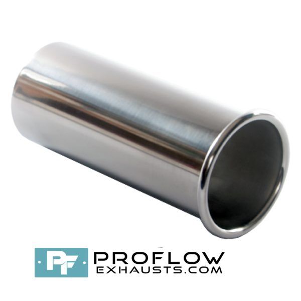 Proflow Exhausts Stainless steel Tailpipe Round TX067