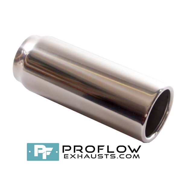 Proflow Exhausts Stainless steel Tailpipe Round TX064