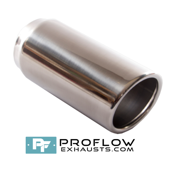 Proflow Exhausts Stainless steel Tailpipe Round TX062