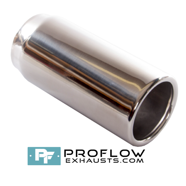 Proflow Exhausts Stainless steel Tailpipe Round TX065