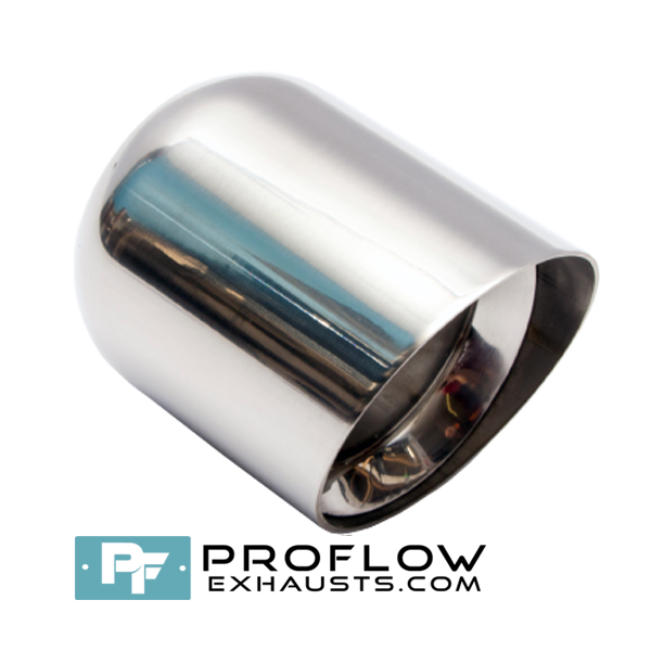 Proflow Exhausts Stainless steel Tailpipe Round TX078