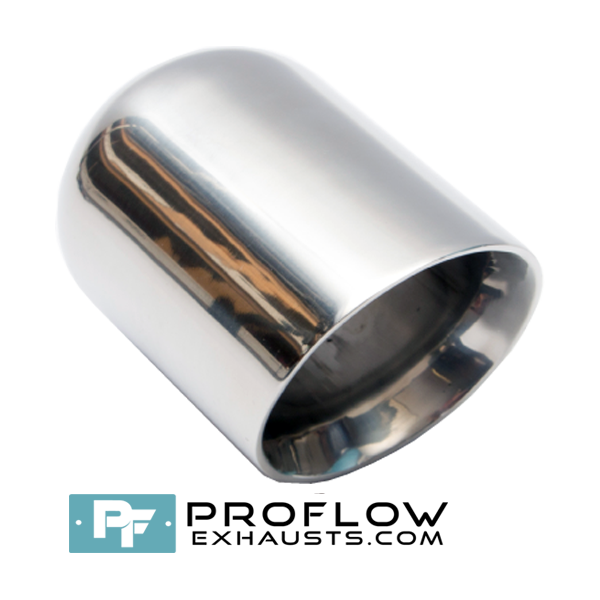 Proflow Exhausts Stainless steel Tailpipe Round TX190