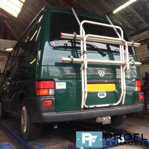 VW T4 Transporter Cat Back Stainless Steel Exhaust System (2)