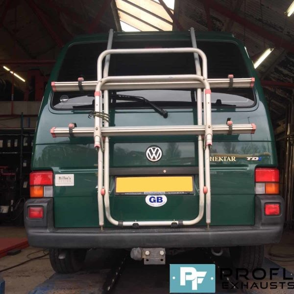 VW T4 Transporter Cat Back Stainless Steel Exhaust System (3)