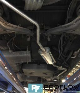 VW T4 Transporter Cat Back Stainless Steel Exhaust System (4)