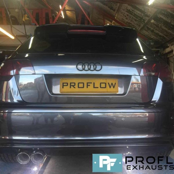 Proflow Exhausts Audi A3 Back-Box Delete Stainless Steel Tailpipe
