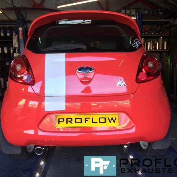 Proflow custom built Middle and Rear Exhaust for Ford KA