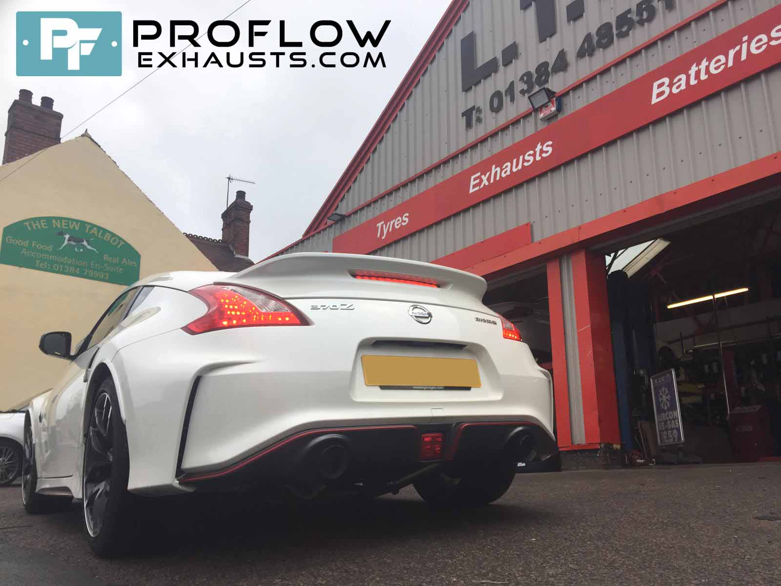 Proflow Exhausts Back Box Delete With Dual Tailpipes