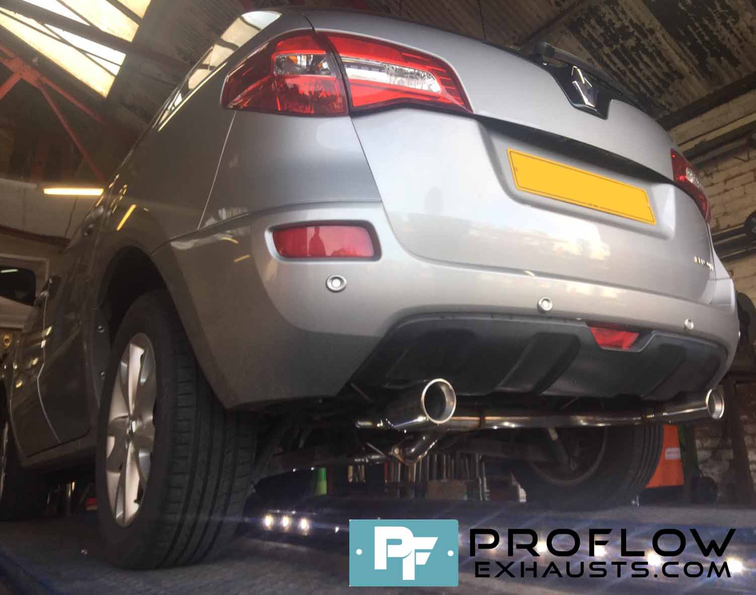 Proflow Exhausts Resonator and Muffler Delete Dual Exit