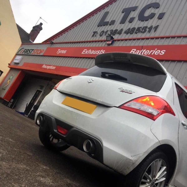 Suzuki Swift Stainless Steel Exhaust System 2