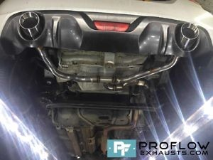 Proflow Exhausts Suzuki Swift Sport Back Box Delete with