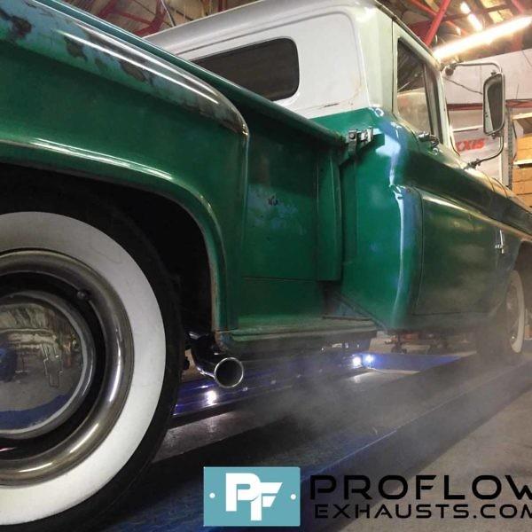 Proflow Custom Built Exhaust for 1962 Chevrolet Pick Up