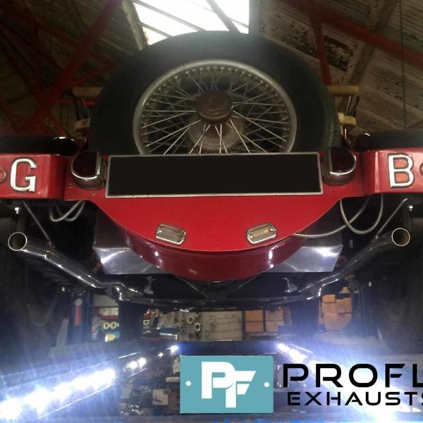 Proflow Exhausts Alvis Dual Resonated Custom Built Stainless Steel Exhaust System (1)