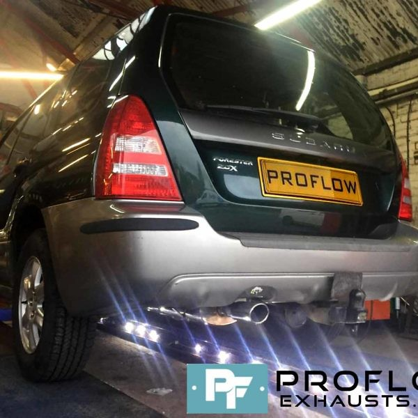 Proflow custom built Exhaust System for Subaru Forester