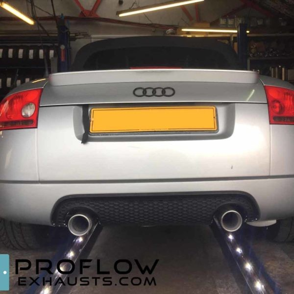 Proflow Exhausts Audi Tt Stainless Steel Middle And Rear Exhaust Tx073 £450 (1)