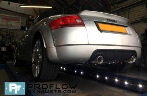 Proflow Exhausts Audi Tt Stainless Steel Middle And Rear Exhaust Tx073 £450 (2)