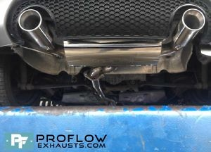Proflow Exhausts Audi Tt Stainless Steel Middle And Rear Exhaust Tx073 £450 (4)