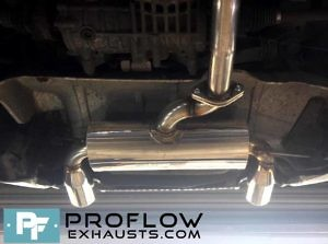 Proflow Exhausts Audi Tt Stainless Steel Middle And Rear Exhaust Tx073 £450 (5)