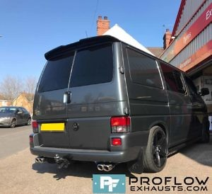Proflow Custom VW T5 Exhaust