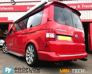 Proflow Custom Built VW T5 Exhaust