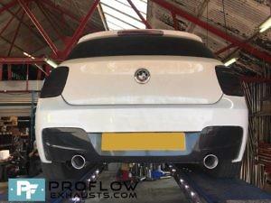 Custom Built Exhaust BMW 118d Proflow Exhausts