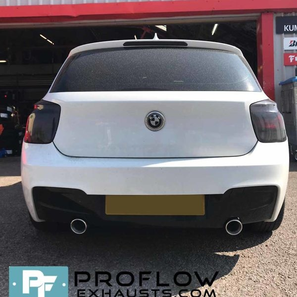 Custom Built Exhaust BMW 118d Proflow Exhausts